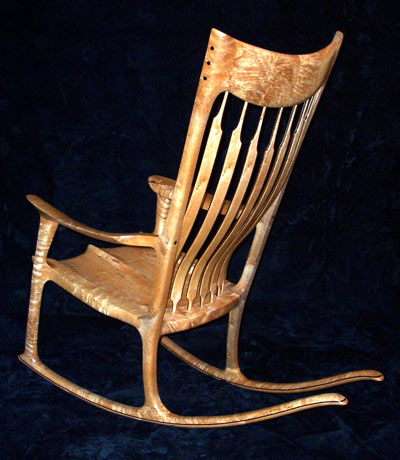 Free Sam Maloof Rocking Chair Plans Hal Taylor PDF Woodworking Plans ...