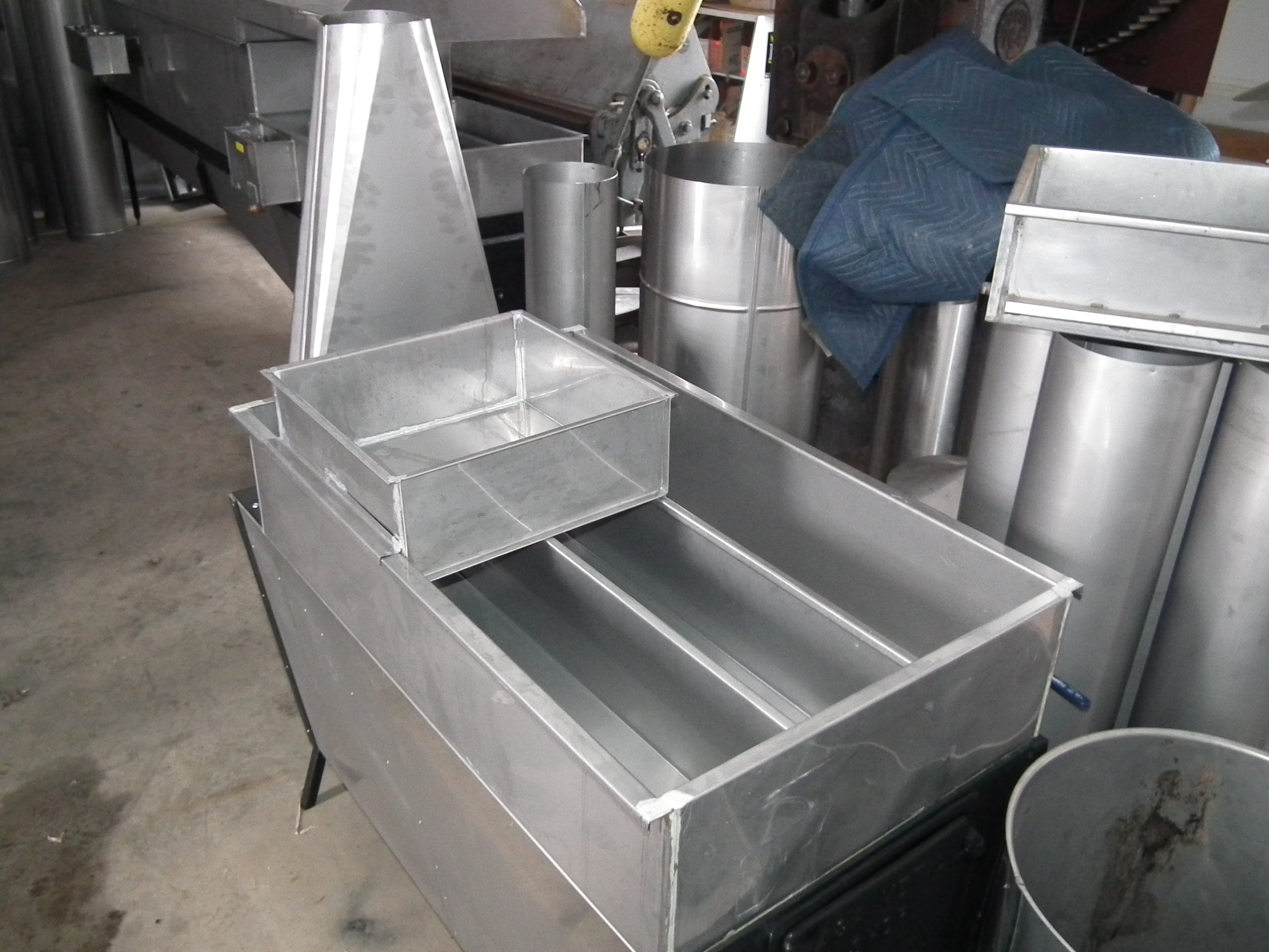 Large Stainless Steel Pan Maple Syrup
