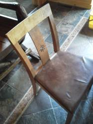 Nice dining room chair.